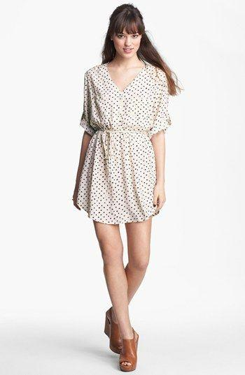 Wedding - Mimi Chica Print Shirtdress (Juniors) (Online Only)