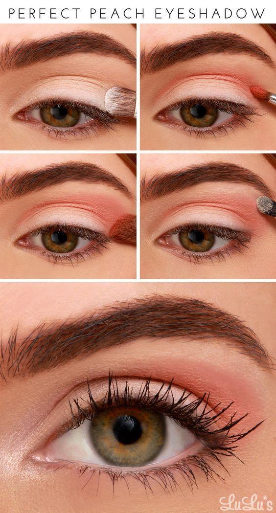 Свадьба - Peach Eyeshadow Tutorial