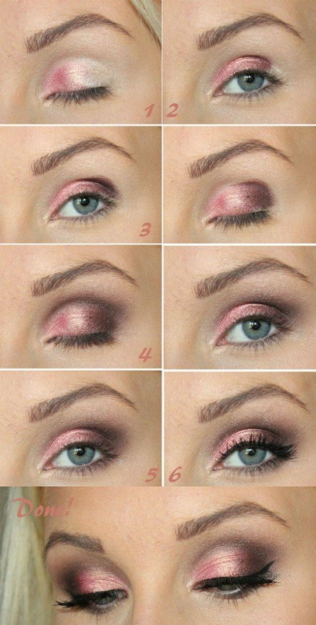 Свадьба - Pink Smokey Eye Tutorial