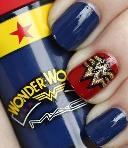 زفاف - Amazing Superman Nail Art Designs, Ideas, Trends, Stickers & Wraps 2014