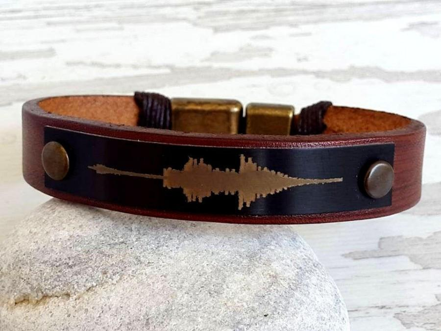 Mariage - Name Bracelet ,Men's Personalized Bracelet,Men's Leather Bracelet, Graduation Gift for Him,Valentines Gift , Personal  Gift