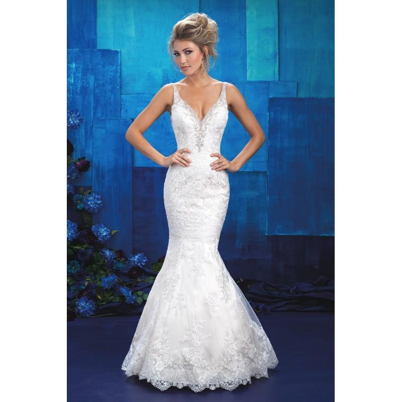 Allure White Dress