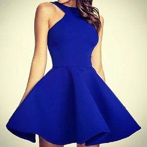 66979cf3c10 Elegant Black And White Long Sleeve Short Prom Dress