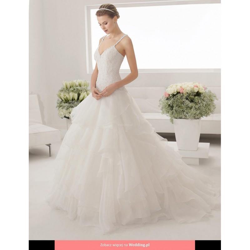 Wedding - Alma Novia - 8B188 Pravia 2015 Floor Length V-neck Princess Sleeveless Short - Formal Bridesmaid Dresses 2017