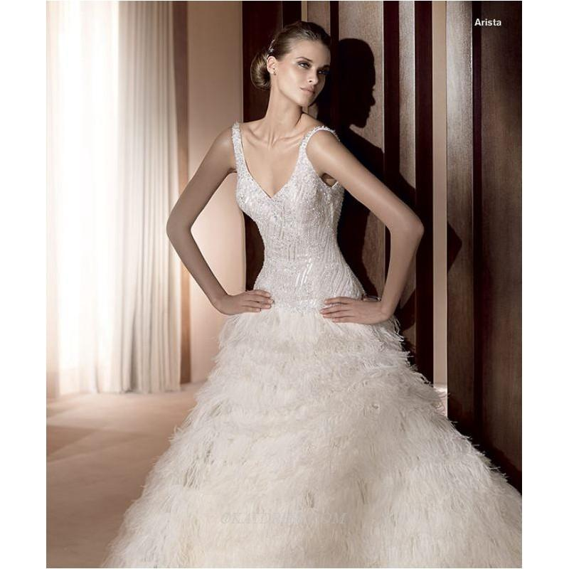 Mariage - Pronovias Arista Bridal Gown (2011) (PR11_AristaBG) - Crazy Sale Formal Dresses