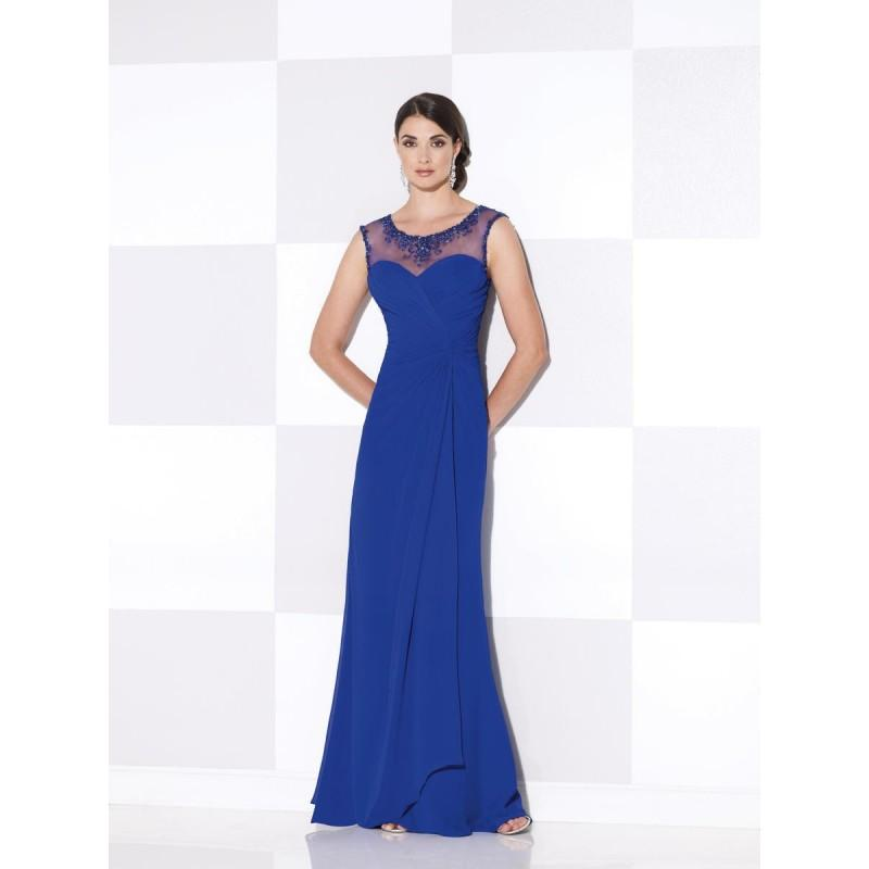 Wedding - Royal Blue Cameron Blake 115610 Cameron Blake by Mon Cheri - Top Design Dress Online Shop