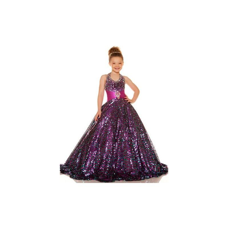 Wedding - Sugar by Mac Duggal Girls Pageant Dress 42617S - Brand Prom Dresses