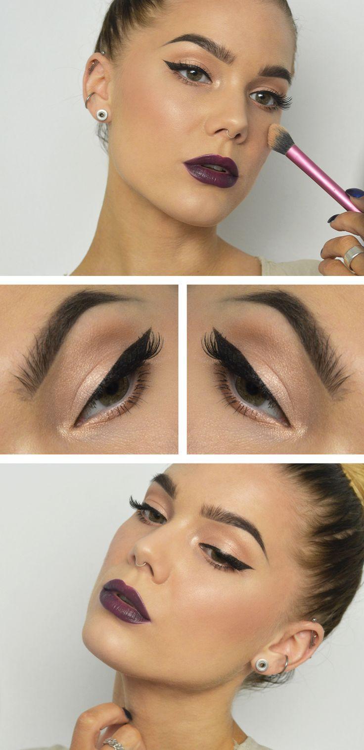 Свадьба - Bold Eyeliner Look