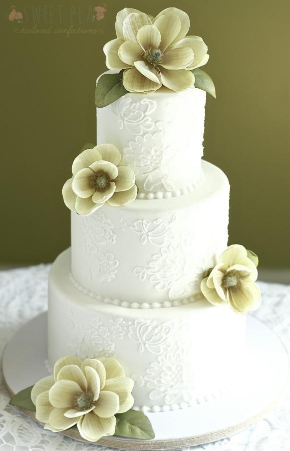 Hochzeit - Vintage Lace & Magnolias