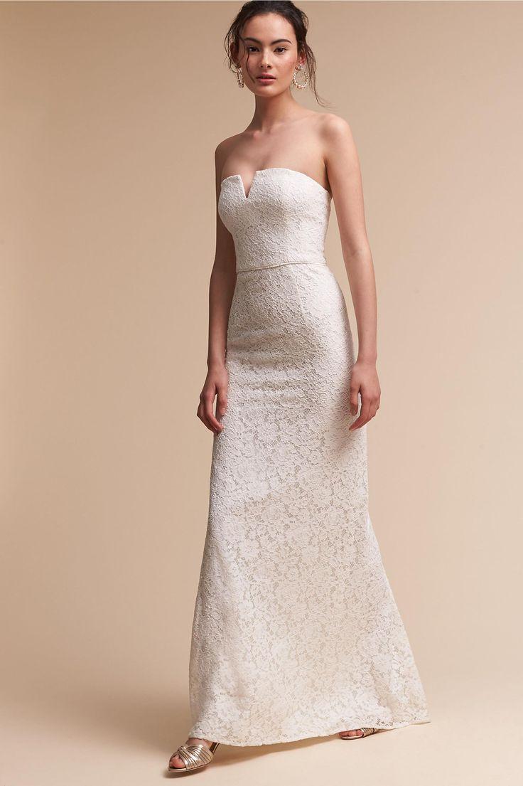 Свадьба - BHLDN's Donna Morgan Winsome Dress In Ivory