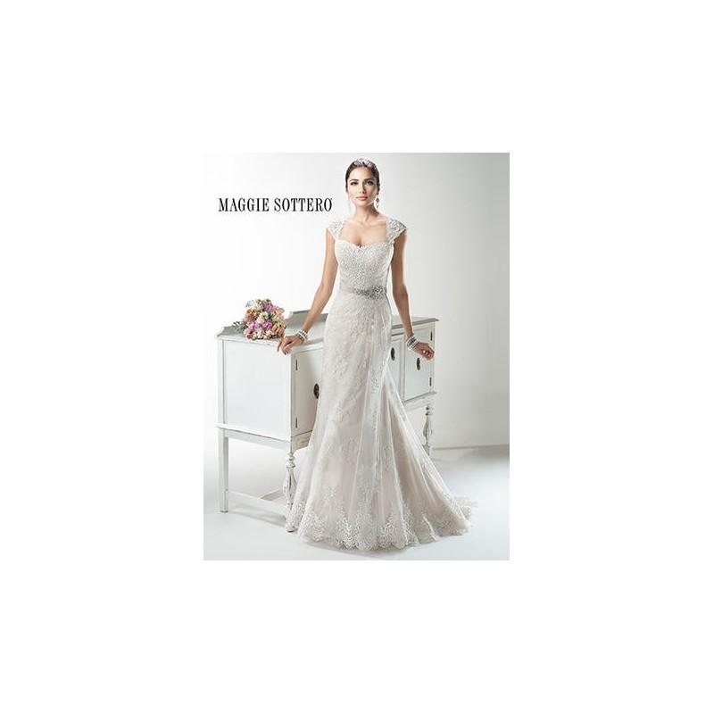 Hochzeit - Maggie Bridal by Maggie Sottero Joelle-4MS062 - Branded Bridal Gowns