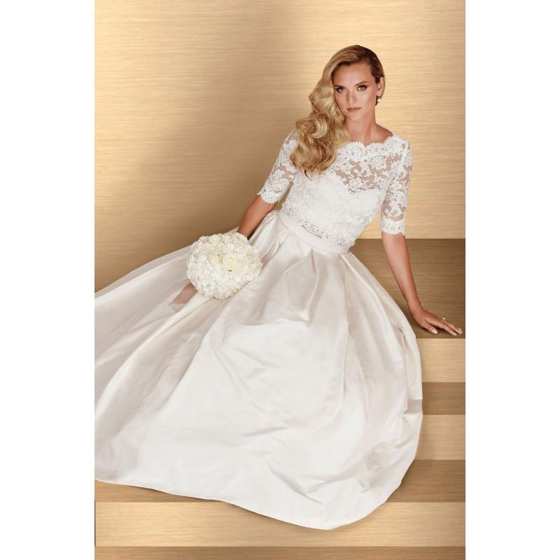 Mariage - Paloma Blanca Style 4667 -  Designer Wedding Dresses
