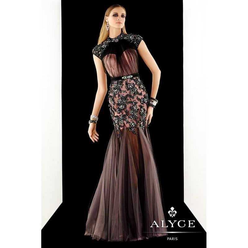 Свадьба - Black/Pink Claudine for Alyce Prom 2367 Claudine for Alyce Paris - Top Design Dress Online Shop