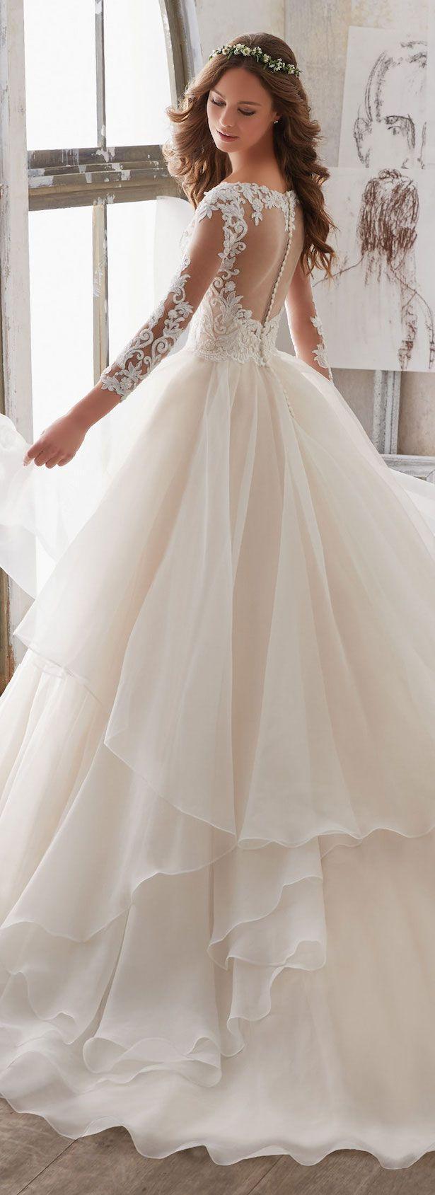 Свадьба - Mori Lee By Madeline Gardner Wedding Dress Collection : Blu Spring 2017