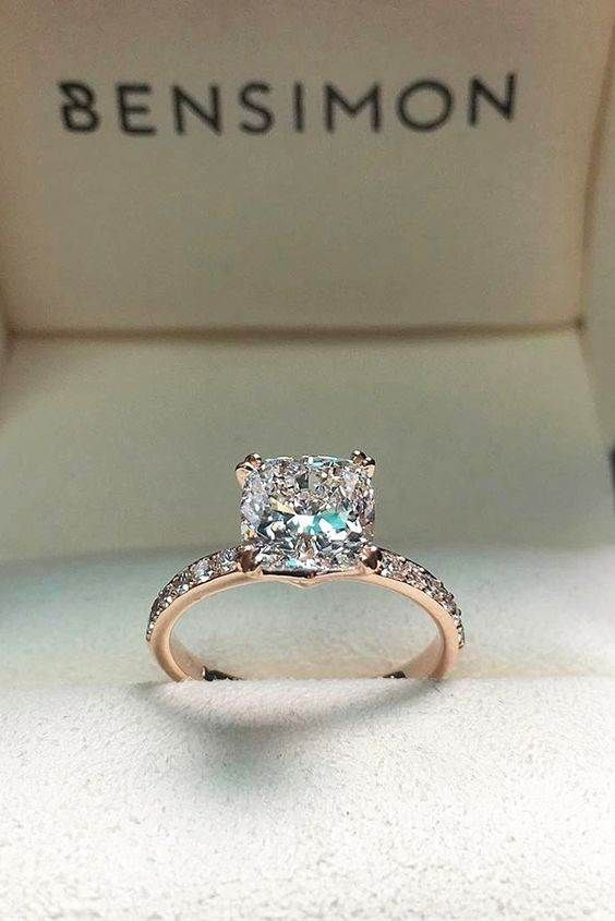 engagement rings future brides will want to add to her pinterest board - Wedding Rings For Her