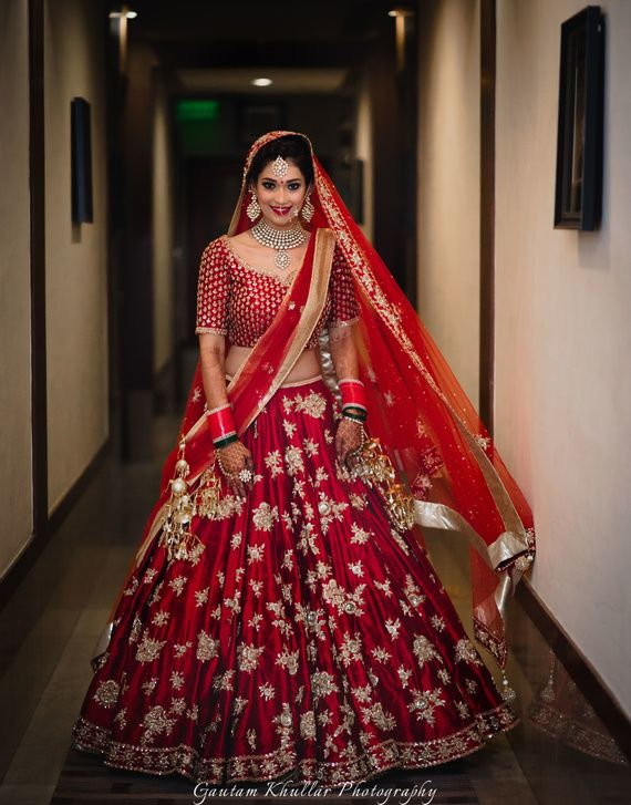 Wedding - Your Complete Guide To The Bridal Lehenga Trends Of 2017! *