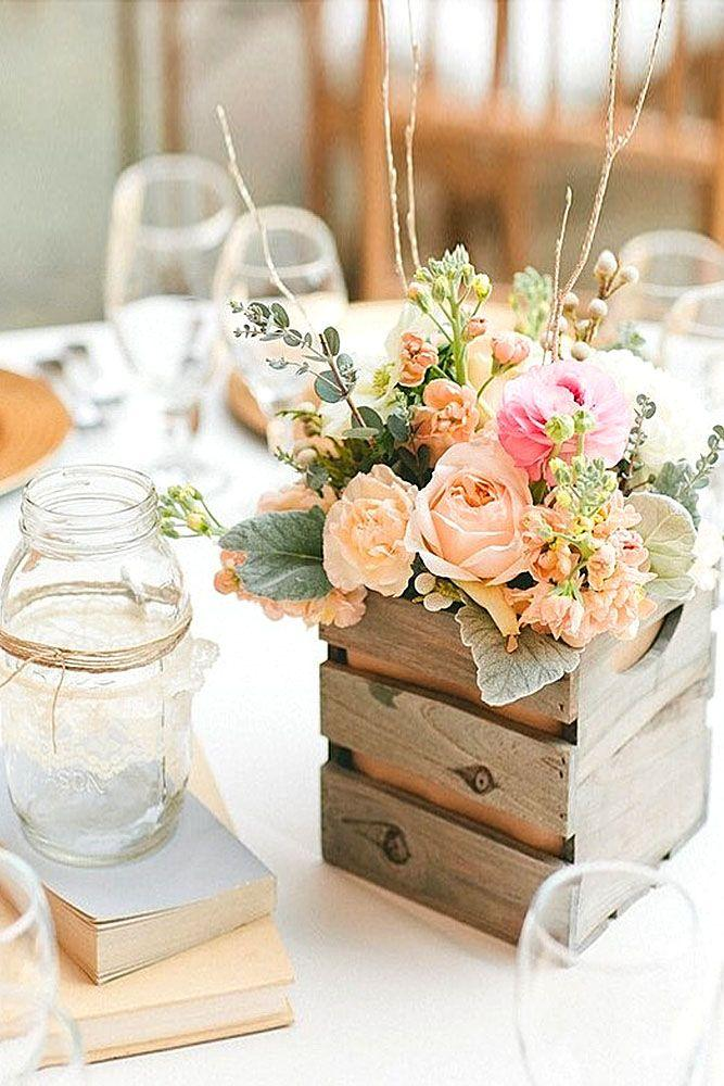 Mariage - Shabby & Chic Vintage Wedding Decor Ideas