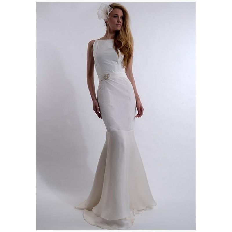 Wedding - Elizabeth St. John Moonlight - Mermaid Natural Floor Silk - Formal Bridesmaid Dresses 2017