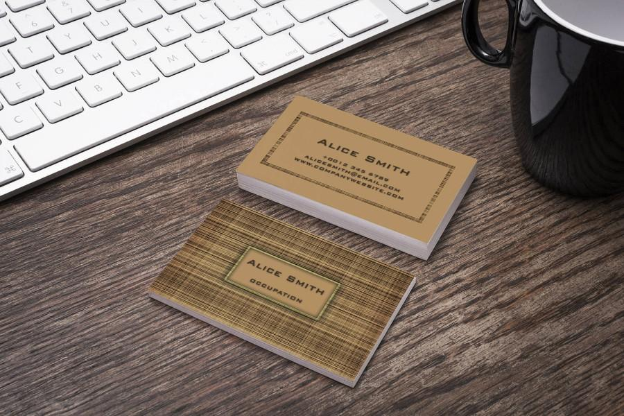 Editable Business Card Template Premade Printable Business Card