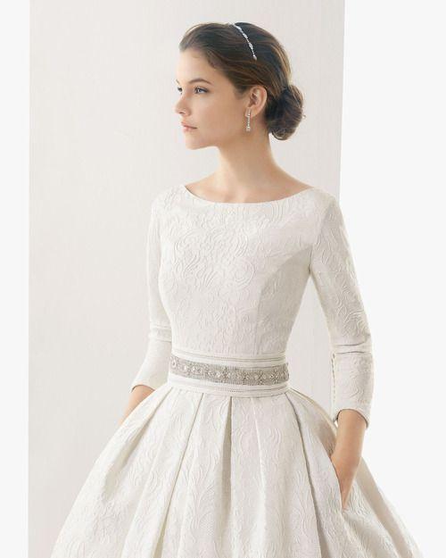 زفاف - Pretty Bridal Jewelry To Compliment Every Wedding Dress Neckline