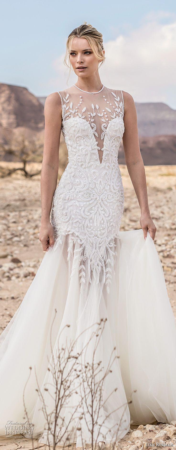 "Свадьба - Lian Rokman 2017 Wedding Dresses — ""Like A Stone"" Bridal Collection"
