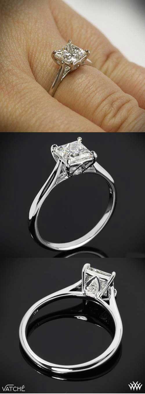 زفاف - Princess Cut Engagement Rings