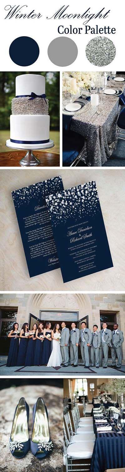 Свадьба - Winter Is Coming! Best Winter Wedding Trends