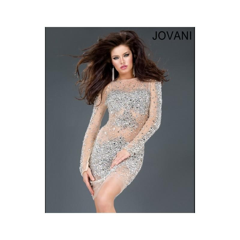 Свадьба - Classical Fashion Cheap New Style Jovani Short Prom/Party/Cocktail Dresses  79162 New Arrival - Bonny Evening Dresses Online