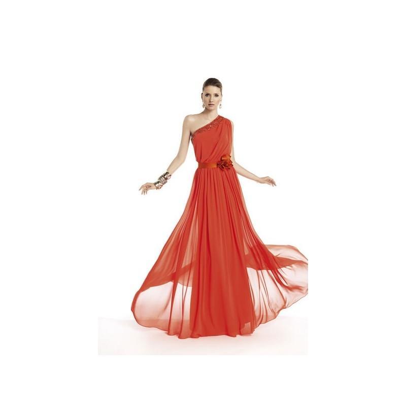 Свадьба - Vestido de fiesta de Pronovias Modelo TAMAR - 2014 Vestido - Tienda nupcial con estilo del cordón