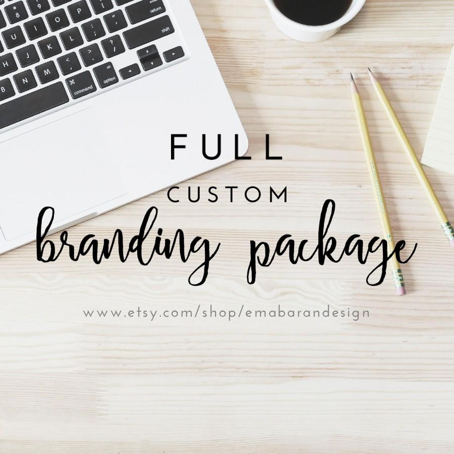 Branding Package - Full Custom Branding Kit, Logo Design, Facebook ...