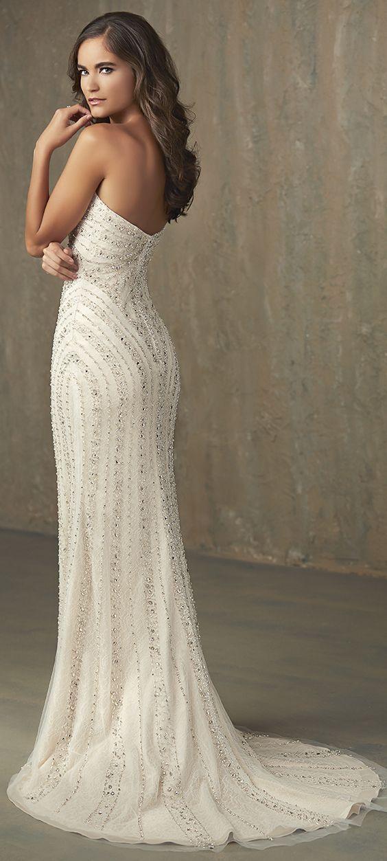 Wedding - Wedding Dress Inspiration - Adrianna Papell Platinum