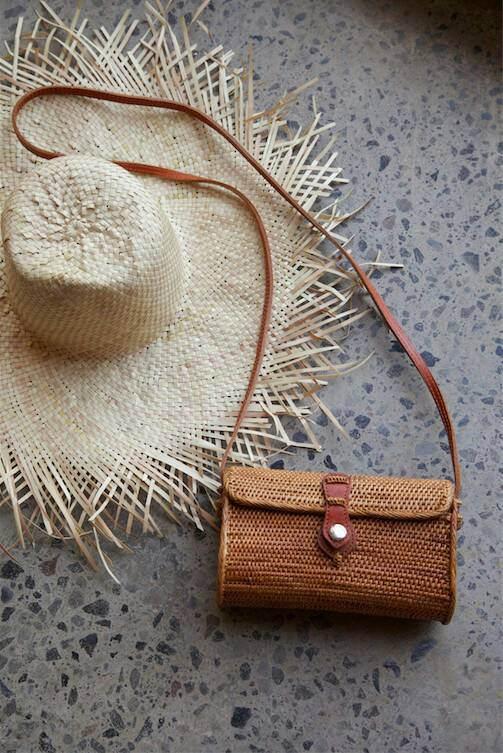 Свадьба - Medium Basket clutch with shoulder strap  Crossbody basket bag, medium shoulder ,bag, Woven Ata bag, basket bag