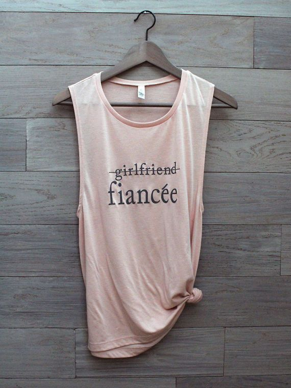 Girlfriend Fiance Shirt, Finacee Shirt, Engaged AF, Bride To Be ...