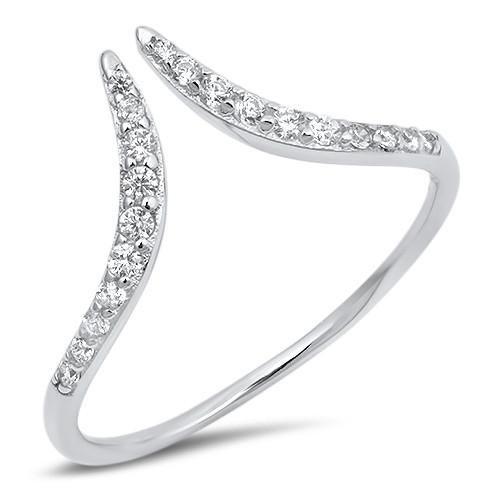 زفاف - The Peak, A Minimalist Russian Lab Diamond Ring