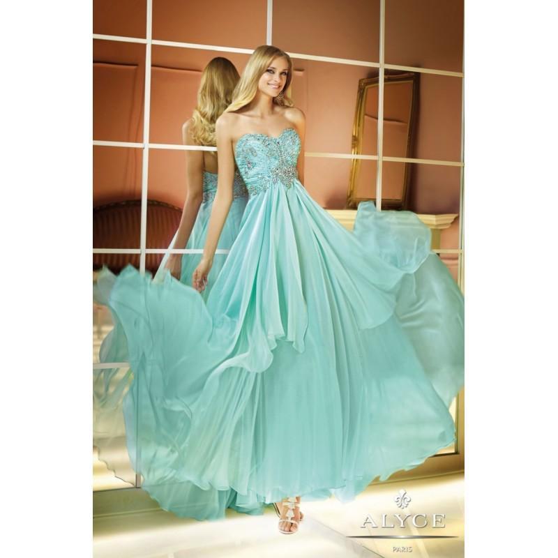 Свадьба - Alyce Prom Dress Style  6285 - Charming Wedding Party Dresses