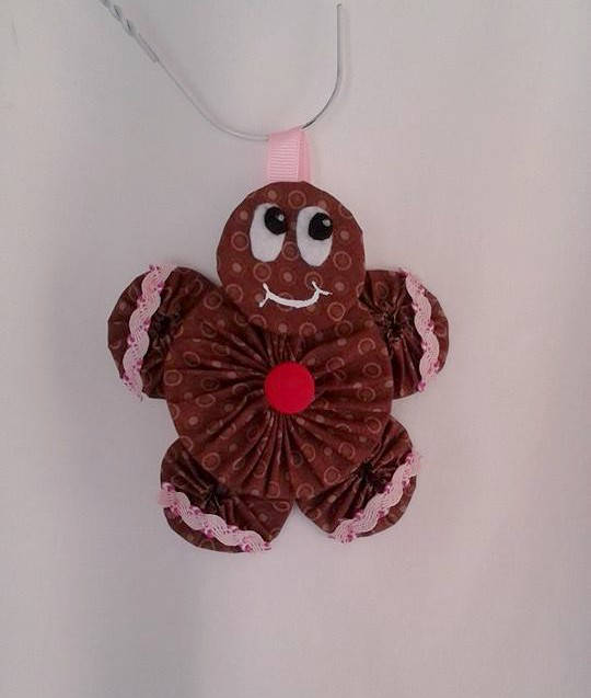Wedding - Gingerbread Girl Ornament / Gingerbread Men / CIJ / Christmas In July