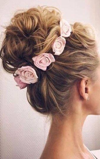 15 Adorable Quinceanera Hairstyles With Flowers #2743996 - Weddbook