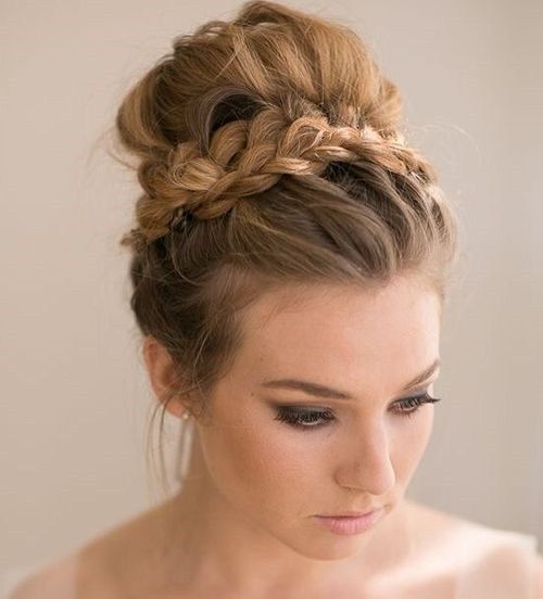 40 Most Delightful Prom Updos For Long Hair In 2017 2743997 Weddbook