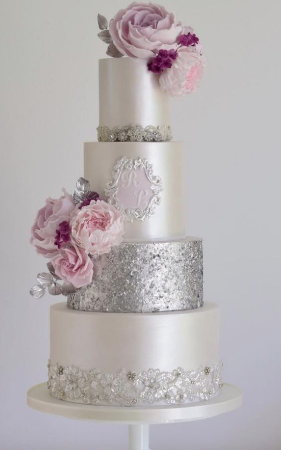Wedding - Wedding Cake Inspiration - Cotton & Crumbs
