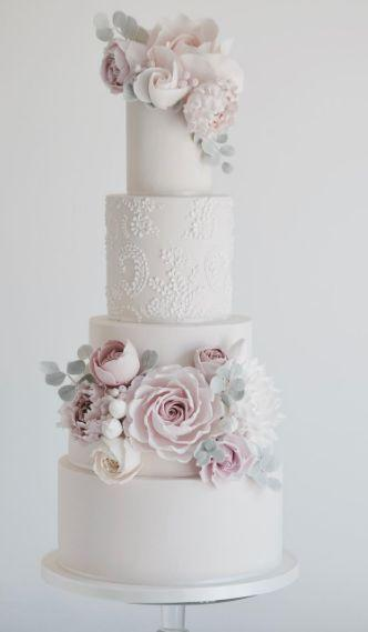 Boda - Wedding Cake Inspiration - Cotton & Crumbs
