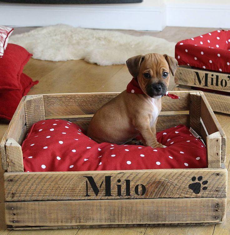 زفاف - Customized Dog basket / Dog Bed