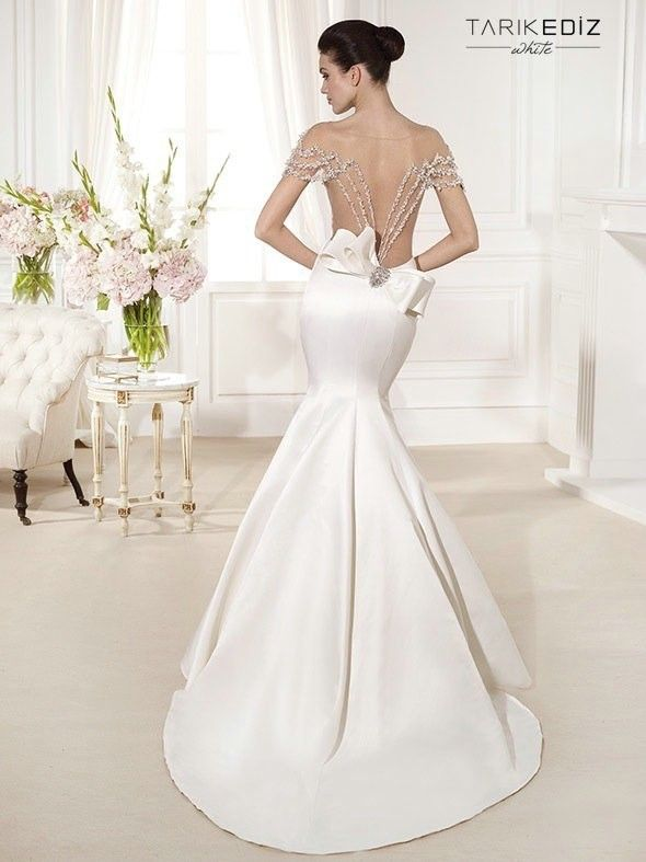 defbd527ee5 Dresses Embroidery Picture - More Detailed Picture About Sexy Off The  Shoulder Backless Beaded Illusion Nude Tulle Long Mermaid Wedding Dresses  2015 Tarik ...