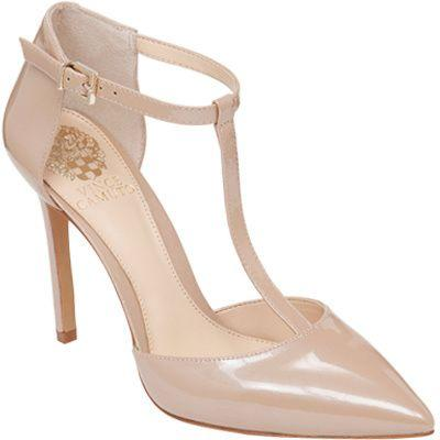 Wedding - Women's Nihal T-strap - Rose Blush Fine Patent High Heels