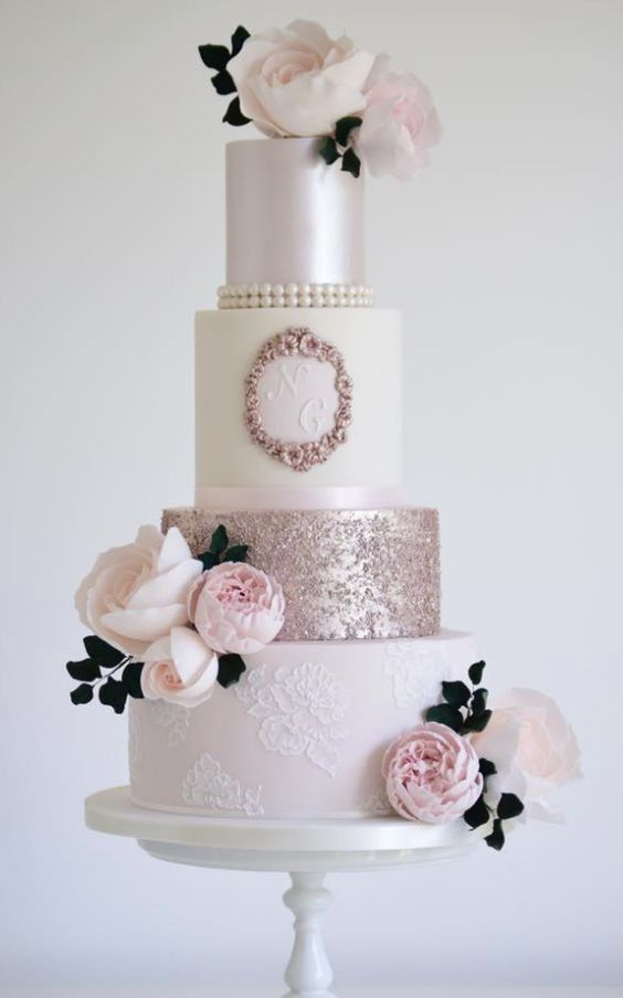Mariage - Wedding Cake Inspiration - Cotton & Crumbs