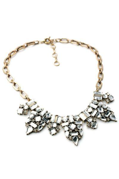 Mariage - Fashion Faux Stone Bib Necklace - OASAP.com