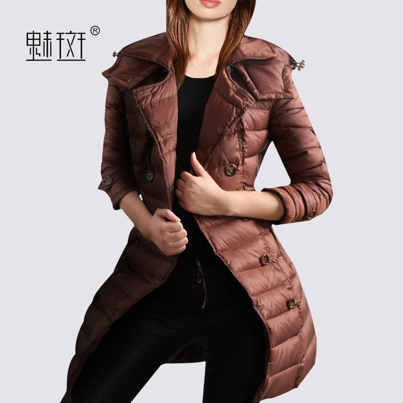 Свадьба - Winter clothes Plus Size women new 2017 thickened slim down jacket long sections down jacket - Bonny YZOZO Boutique Store