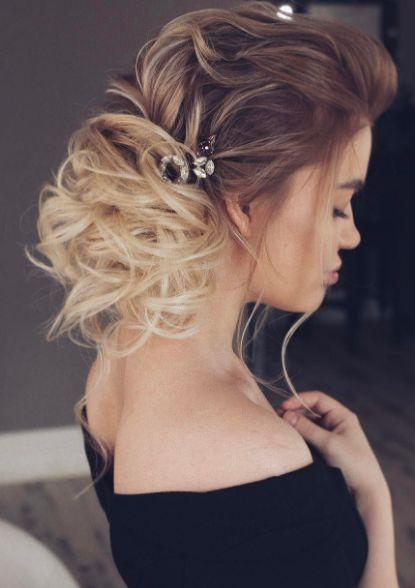 Hochzeit - Wedding Hairstyle Inspiration - Tonyastylist (Tonya Pushkareva