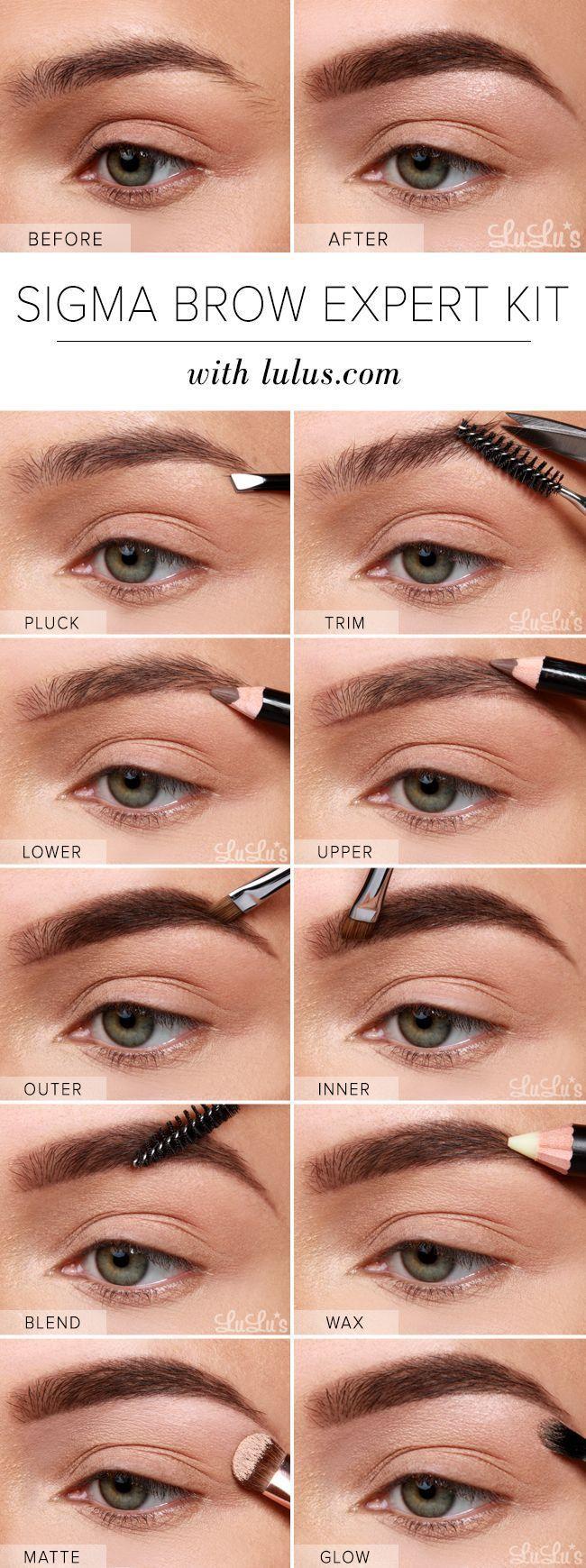 Boda - Eyebrow Tutorial