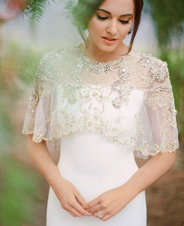 Wedding - Trend Alert: The 20 Most Stunning Bridal Capelets
