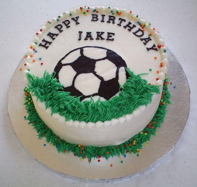 Wedding - Soccer Birthday Cake